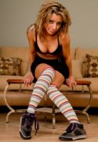 Noel Striped Socks